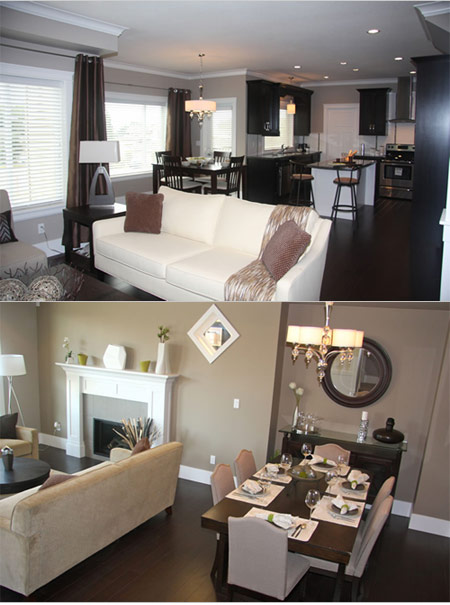 Craftsman style Surrey homes with large floor plans near Guildford Mall.