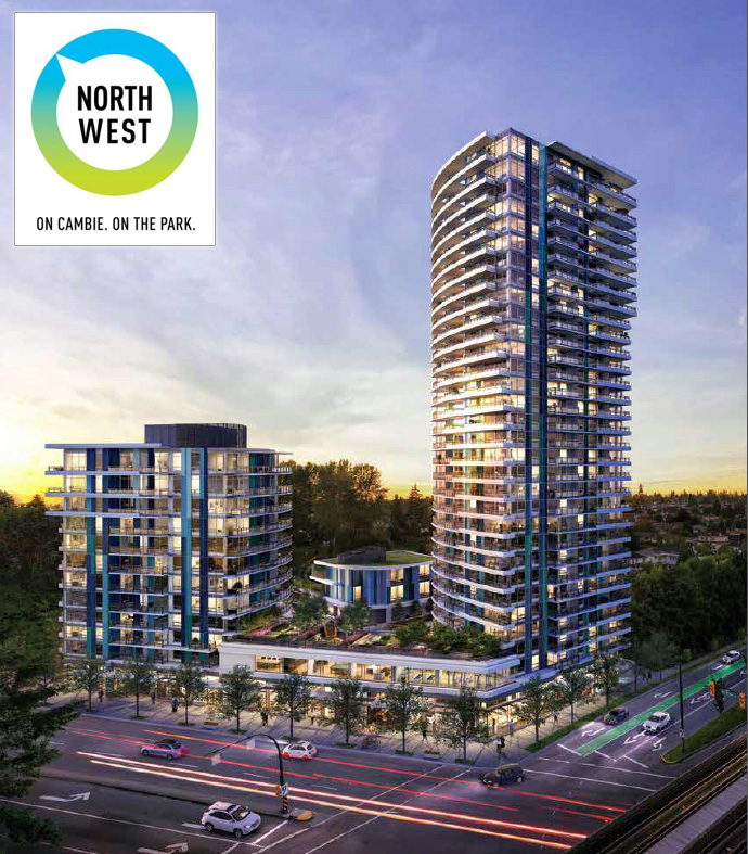 Marine & Cambie Vancouver Northwest Condos by Onni Developer.