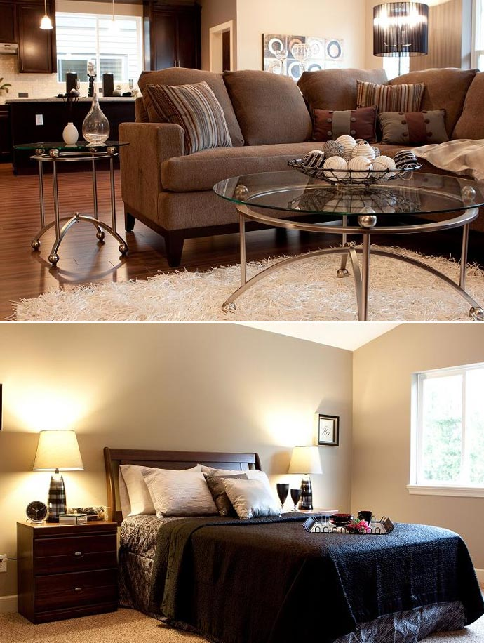 Interior features at the Nour Coquitlam Burke Mountain homes for sale by Noura Construction Limited.