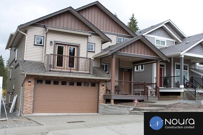 The pre-construction Coquitlam Nour of the Foothills Burke Mountain homes for sale.