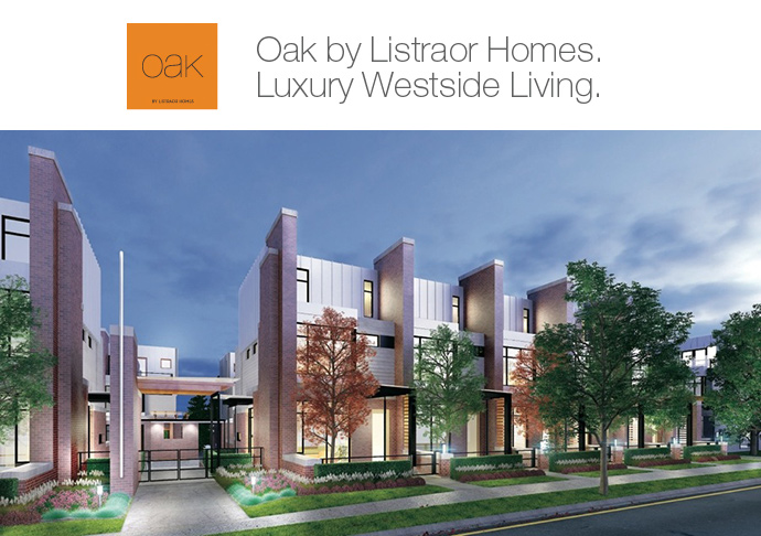 OAK Vancouver Townhomes.