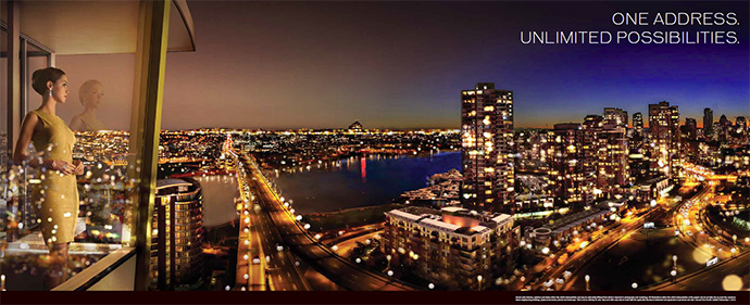 Unlimited possibilities at One Pacific by Concord Pacific developers.