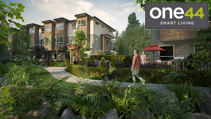 Beautifully landscaped and designed, we introduce the new VESTA one44 Surrey Panorama townhomes for sale.