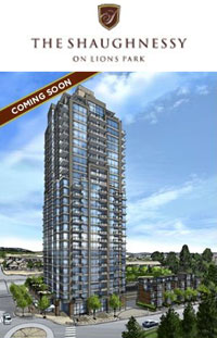 Port Coquitlam Shaughnessy on Lions Park real estate development launches