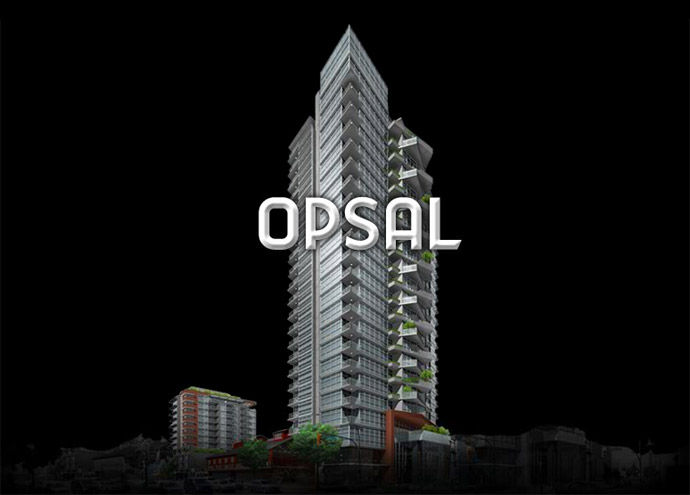 Opsal Steel Vancouver Condos for Sale.