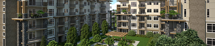 Presale Port Coquitlam Orchid riverside condos by Quantum Properties.
