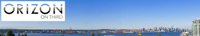 View Residences at the Lower Lonsdale ORIZON on Third North Vancouver condo project by Intracorp Developers.