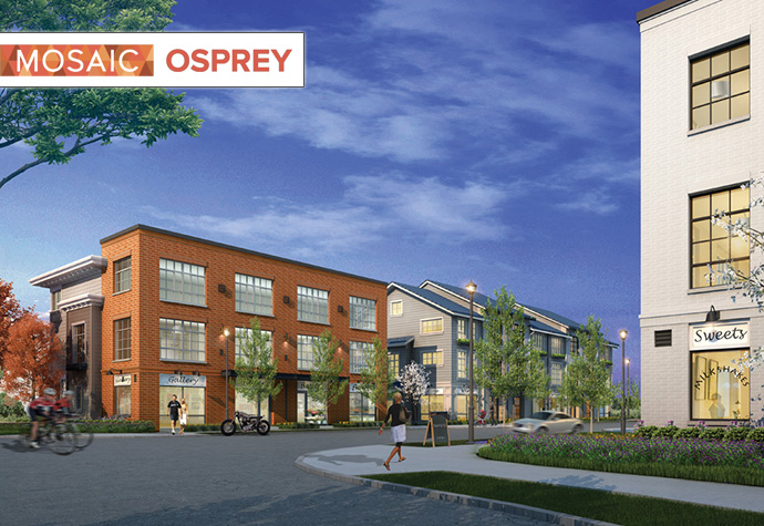 Pitt Meadows Osprey Rowhomes and Storefronts for sale.