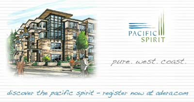 Latest real estate marketing for the new Vancouver condos at Pacific Spirit UBC by Adera Properties