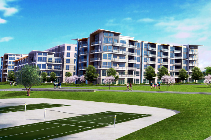 The pre-construction Richmond Parc Riviera condominiums and riverfront townhouses are beautiful and represent a ground level purchase opportunity for first time homebuyers.