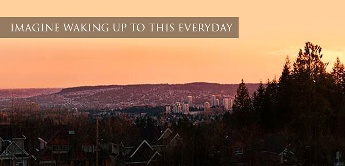 Enjoy the incredible views from Morningstar Partington Coquitlam homes.