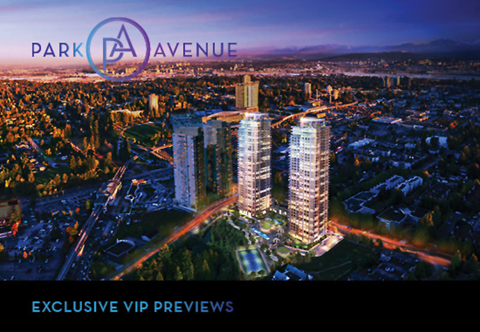 Pre-construction Surrey Park Avenue by Concord Pacific real estate development.