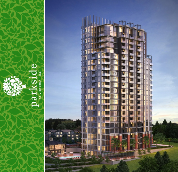 New Westminster Parkside at Victoria Hill condos and town homes
