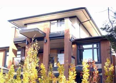 Matthew T. Hansen designed Parks on Third Lower Lonsdale North Vancouver luxury homes for sale.