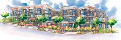 The new Parkview Place condo homes in West Vancouver real estate market are designed by Karl Gustavson.