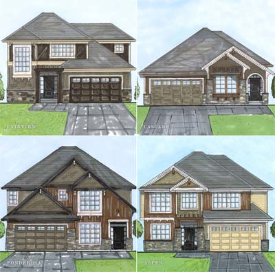 PreConstruction Abbotsford Highlands Homes by Ledgeview Golf