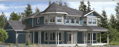 The Vancouver PNE Prize Home 2008 is a magnificent multi-million dollar home complete with all the finest finishes and amenities that you would want in a 3300 square foot new home.