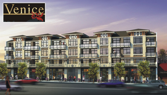 Still waiting for more information regarding the new Venice Burnaby condo apartments and commercial space