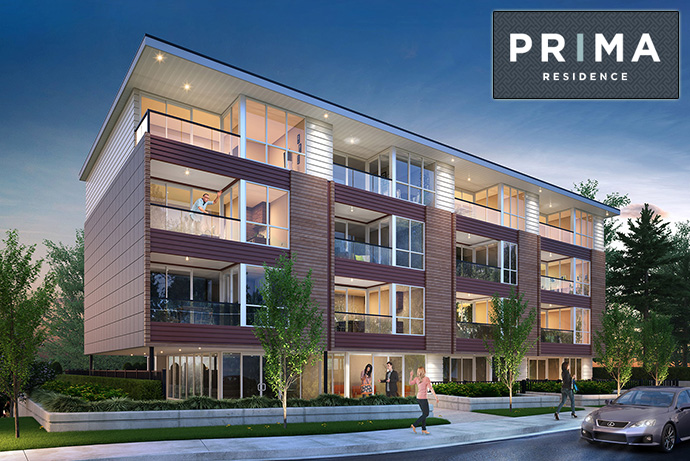 New Port Coquitlam PRIMA Condo residences for sale.