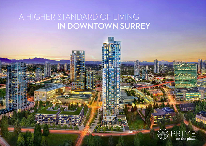 Prime on the Plaza Surrey micro-lofts development is now launching sales in Summer 2015.