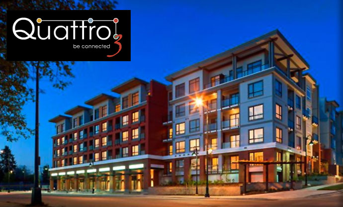 The new Quattro 3 Surrey City Centre apartments are affordable Whalley condos for sale