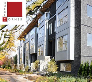 The pre-sale Quebec Corner Mount Pleasant Townhomes in Vancouver are now selling and will be completed before 2009.