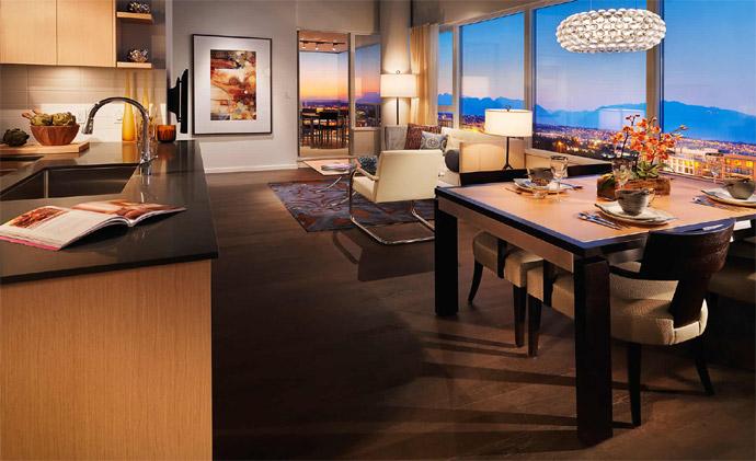 Interior rendering of the new Quintet Richmond real estate development.