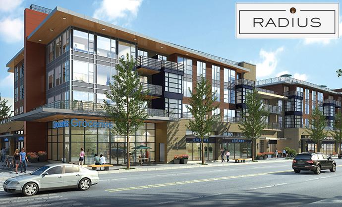 Boutique Vancouver RADIUS Kitsilano condos for sale.