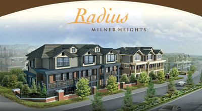 The Langley Radius Townhomes at Milner Heights are affordable, spacious and family oriented.