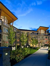 The third phase of this Ravenwoods North Vancouver real estate community is Seasons South condo apartments for sale