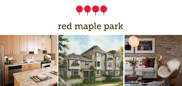 Polygon Red Maple Park Langley townhomes for sale.