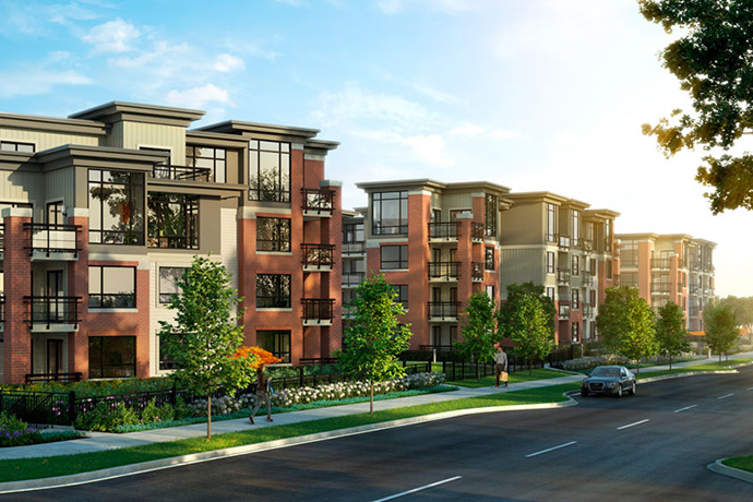 Presale Burnaby RedBrick Apartments by Amacon.