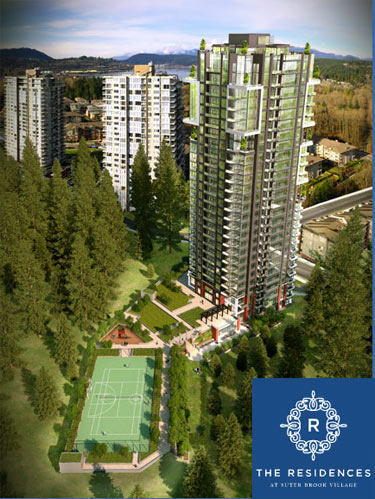 Onni presents the new Port Moody Residences at Suter Brook Village real estate development.