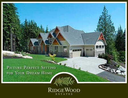 Update on Marcraft Home Builders' Ridgewood Estates Anmore Lots for Sale near Burnaby real estate market.