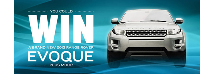 River Park Place Range Rover Evoque by Intracorp New Luxury Contest giveaway
