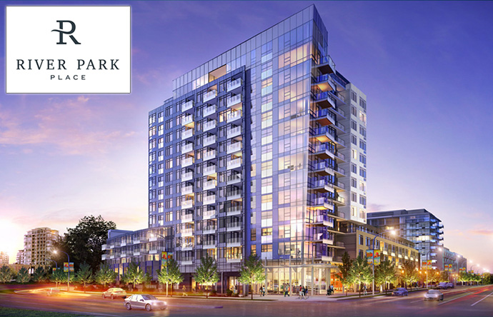 River Park Place Richmond luxury condos for sale.
