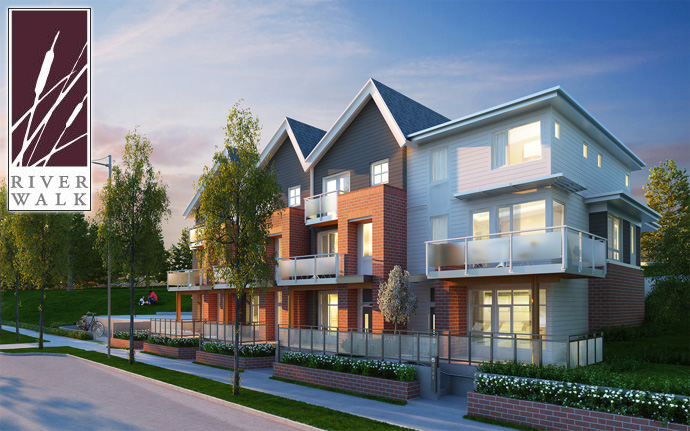 Boutique Polygon River Walk Vancouver Townhomes in River District community