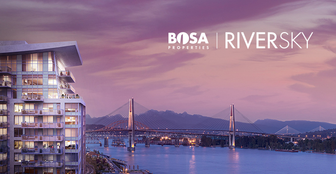New Westminster RiverSky Condos by Bosa Properties.