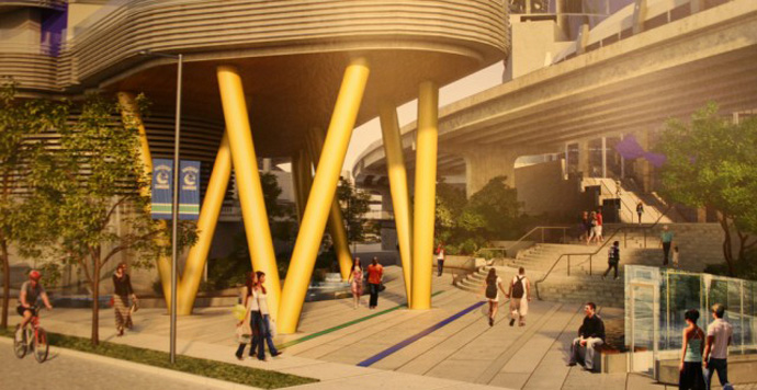 Rogers Arena Vancouver condo tower proposal now underway