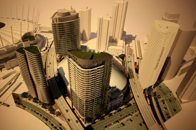 Proposed Vancouver Rogers Arena high-rise towers