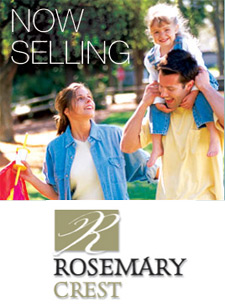 The presale South Surrey Rosemary Crest single family homes are located in the popular Rosemary Heights community.