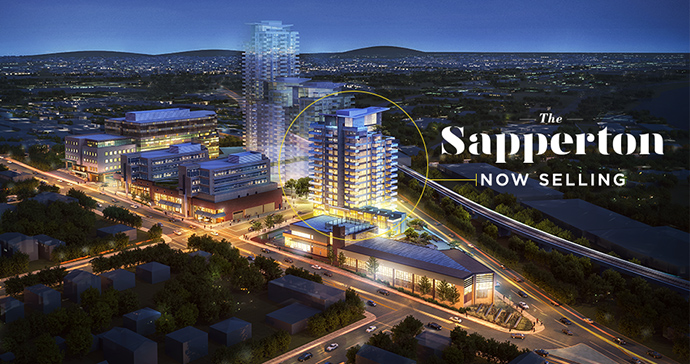 An introduction to The Sapperton at Brewery District New Westminster condos by Wesgroup Properties.