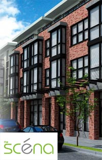The Scena East Vancouver pre-construction condos, urban flats and City homes are now available through THIND Developments.