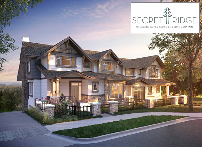 The Foothills of Burke Mountain Coquitlam Secret Ridge homes for sale.