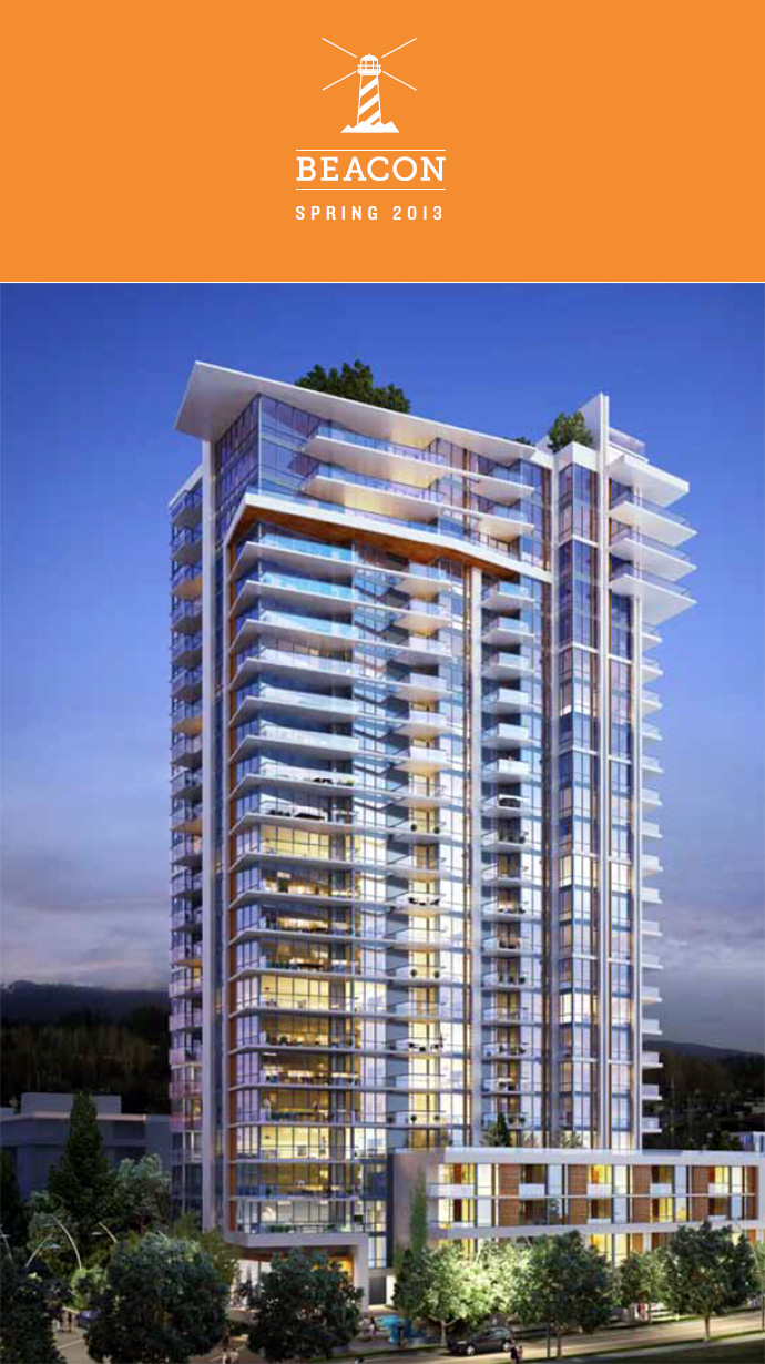 North Vancouver Beacon at Seylynn Village Phase 1 tower will feature a high-rise condo residence with townhomes.