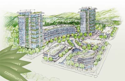 A mixed use property development at the North Shore Seylynn Village project will bring pre-sale North Van live/work apartments, market condos and affordable housing suites to the market.