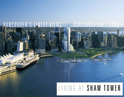 The prestigious Coal Harbour Shaw Tower Vancouver condo residences are now available in the re-sale property market and provide magnificent views and interiors.