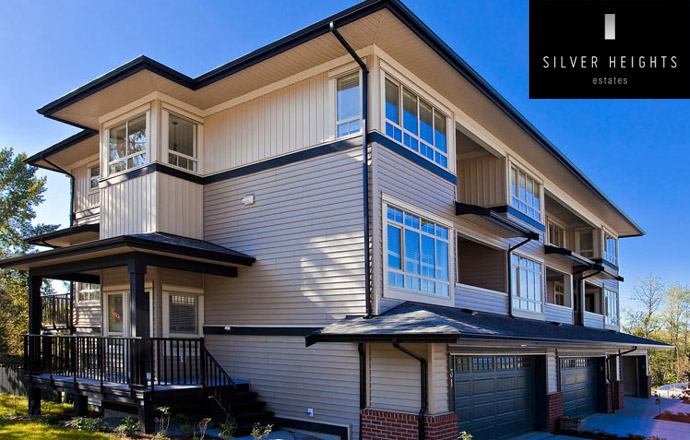 The new Maple Ridge Silver Heights Estates Homes come in two styles, modern and classic.