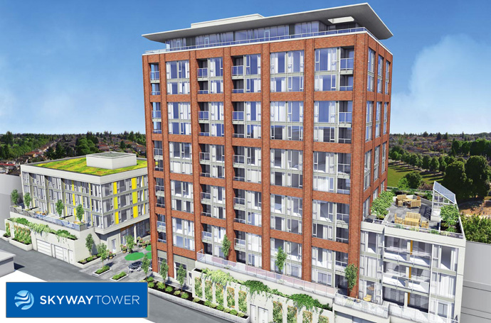 The Skyway Tower in Vancouver Norquay community now selling.