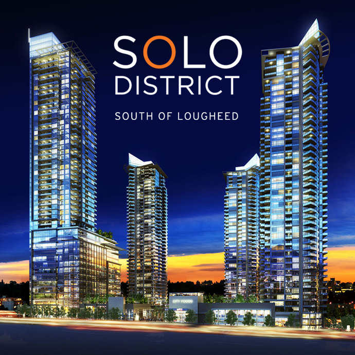 Phase 1 SOLO District Burnaby real estate development by Appia Group of Companies.